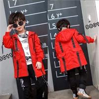你好光芒儿童长袖套装 低价童装尾货批发 广州童装批发市场