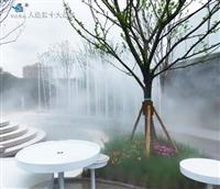 遵义售楼部景观造雾系统  锦胜喷雾设备生产厂家