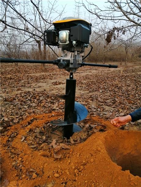 小型挖树坑机植树需求量大