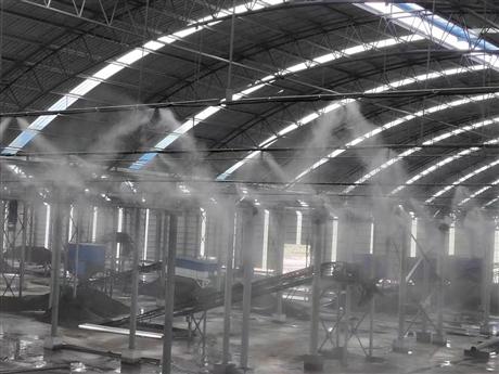 煤矿喷雾降尘系统
