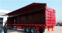 高配置標準車型13.75米三橋廂式半掛車廠家直銷品牌三包
