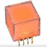 一开nkk代理商现货NP01-15播放用透明水晶按钮开关NP0115AG03NN