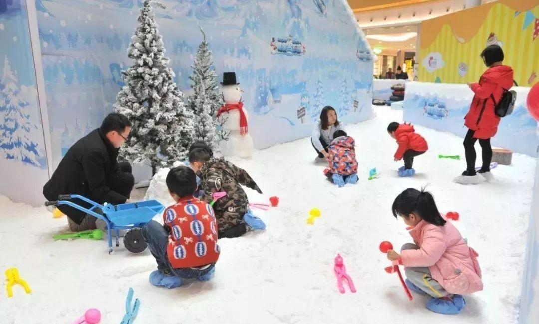 室内仿真雪人造雪儿童乐园品牌