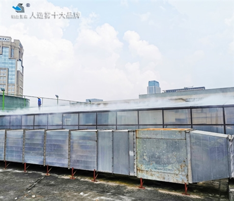上海冷雾降温设备安装  锦胜雾森人造雾公司
