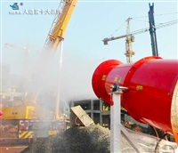 环保高压喷雾消毒装置施工