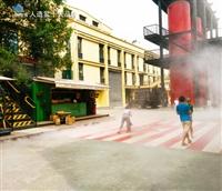 贵阳户外公交站冷雾降温系统  人造雾降温设备厂家