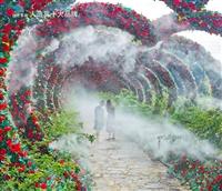 江津市公园雾喷设计