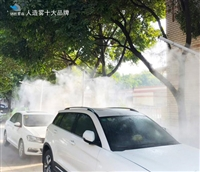 吕梁锦胜品牌 人造雾降霾 雾喷加湿设备