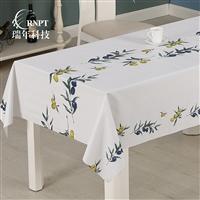 RNPT瑞年 供应简约印花桌布防水台布PVC塑料桌布茶几餐桌布