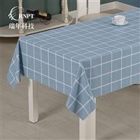 RNPT瑞年 产销格子台布防水桌布PVC塑料台布茶几布