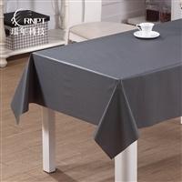 RNPT瑞年 棉麻台布客厅茶几布 防水防油PVC桌布