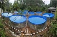 户内外高密度养殖帆布水池