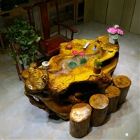 蘇州 楠木茶桌 根雕小茶桌價格 啟航木業