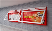 供应路灯箱喷塑宣传栏厂家 江苏仟誉公交站台候车亭厂家