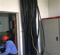 绍兴工地电缆线回收商务楼电缆拆除