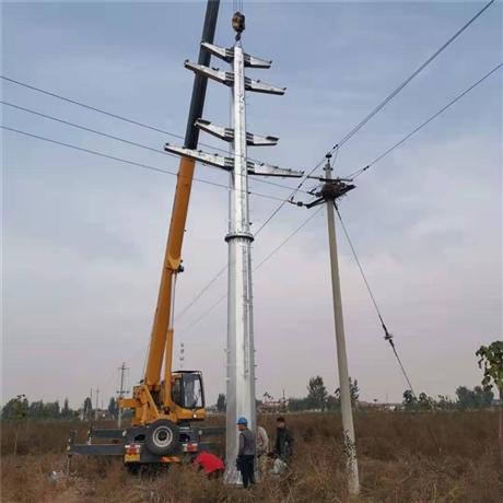 电力钢杆型号 电力钢杆生产厂家 输电钢杆批发