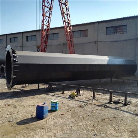 10kv电力钢杆 21米110KV电力钢杆打桩基础施工方案
