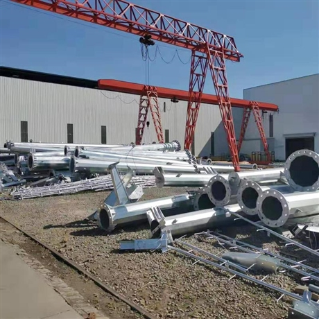 电力钢杆厂家 钢电线杆高压电力钢杆