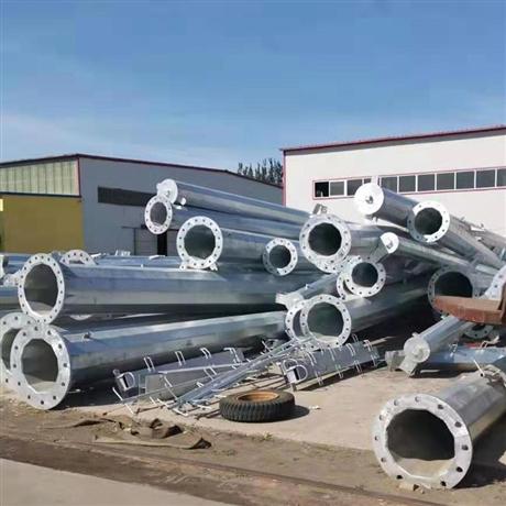 110kv电力钢杆厂家 电力钢杆批发钢杆基础施工