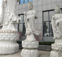 石雕佛像 大理石三面觀音 寺廟大型石雕觀音像 惠安石雕觀音