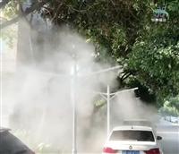 灯杆水雾除霾