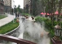 登封景區噴霧造景設備工作原理