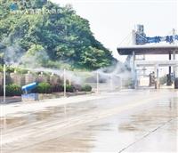 兰州市堆料棚造雾机降尘工程安装