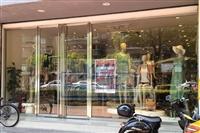 南宁玻璃门定做 安装店面玻璃门