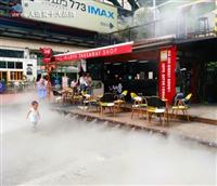 甘肃降温喷雾 高压雾森细水雾降温系统