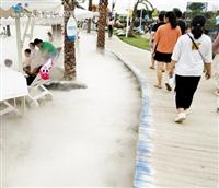 许昌人造仙境 冷雾造雾机 喷雾设备厂家