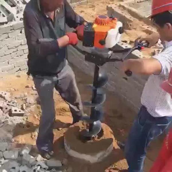 掏桩机小型螺旋桩内掏土设备