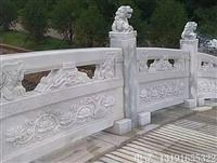 石材栏杆 芝麻白栏杆 芝麻白河堤栏杆