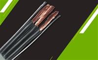 阻燃丁晴扁电缆ZR-YFFRP特殊混合PVC材质