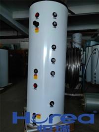 双盘管换热承压保温水箱 壁挂炉换热承压水箱