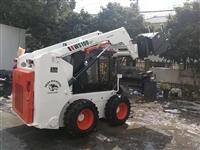 甘肃滑移装载机 滑移清扫车 多功能滑移装载机厂家 装载机清扫器