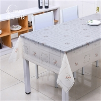 RNPT瑞年 供应白色蕾丝台布防水桌布PVC塑料台布茶几布