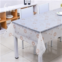 RNPT瑞年 供应防水蕾丝台布PVC餐桌布塑料桌布茶几布