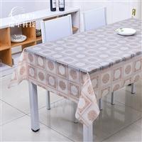 RNPT瑞年 厂销防水蕾丝桌布PVC塑料台布长方形餐桌布