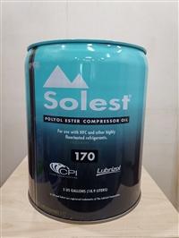 原装正品莱富康冷冻油SOLEST170螺杆机冷冻油