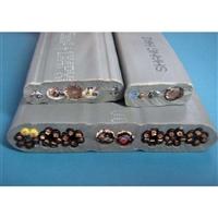 铜丝直径2.25阻燃扁电缆ZR-YF46GRB