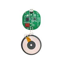 鱼缸无线接收器 钱包接收器模块 成人用品无线充接收模块