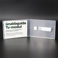 伟胜USB盒透明PP塑胶盒U盘储存包装盒USB收纳盒可插彩纸