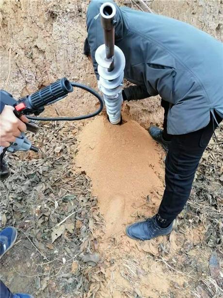 种树苗使用植树钻坑机设备