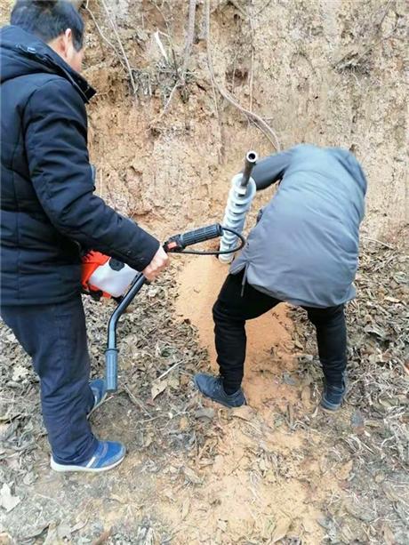 雷力植树打坑机农网改造好帮手