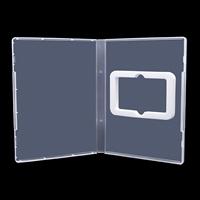 新诚14mmUSB卡盒透明塑料USB盒USB包装盒U盘卡盒EVA棉USB卡储存盒