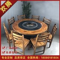 绵阳欢腾烤涮一体桌 火锅桌信誉保证