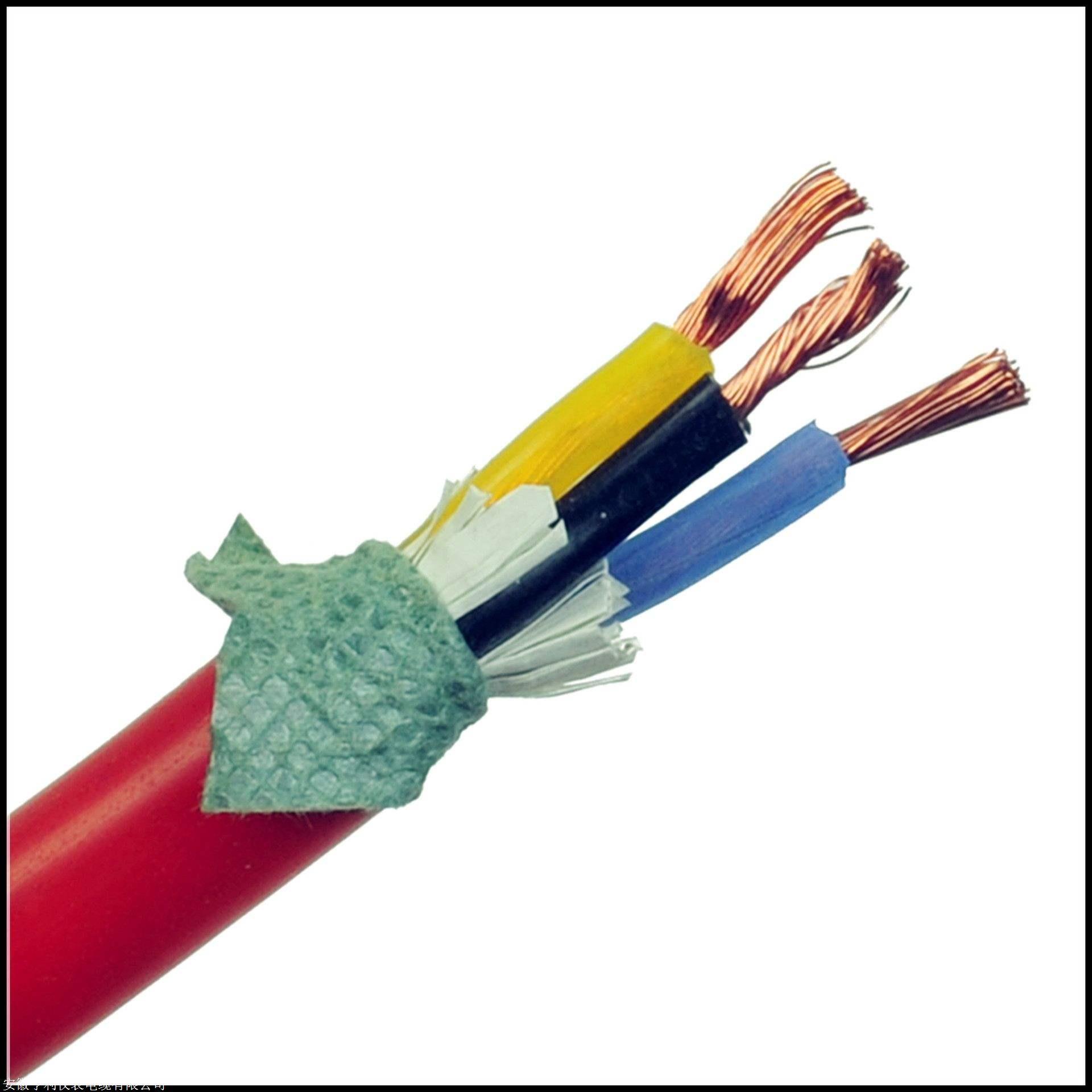 阻燃硅橡胶电缆ZR-KFGRPB外径10*17.2mm