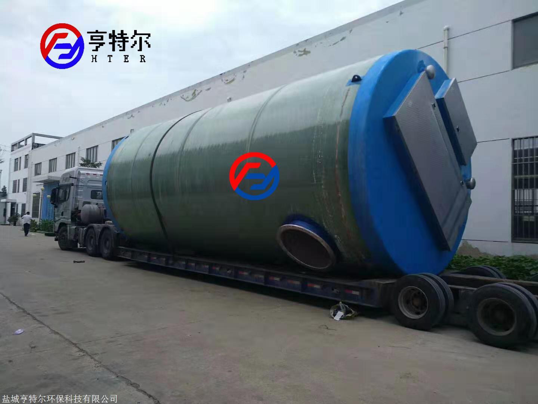 DN1600*5800一體化雨水泵站 大型一體化泵站廠家