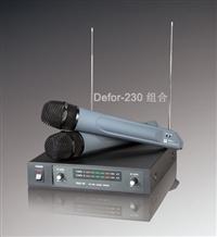 安度 Arttoo Defor-230 VHF雙通道無線話筒長期現貨