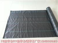 黑色编织布 除草效果好的防草布一亩地多少钱